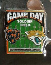 JACKSONVILLE JAGUARS vs CHICAGO BEARS Game Day Pin 10/16/16 BRAND NEW NFL PIN