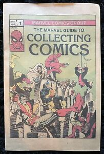 VINTAGE The Marvel Guide To Collecting Comics (1982) Bronze Age Simonson / Byrne