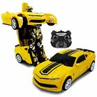 Kids RC Toy Car Transforming Robot Remote Control Vehicle Toys For Boys Used