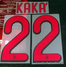 AC Milan Kaka 22 Football Shirt Name/Number Set Kit Away Serie a 2009-10