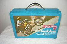 New listing Vintage Hot Wheels Rrrumblers Roarin 8 Collectors Case Clean Mattel 1970 Diecast