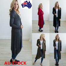 Women Long Wrap Cardigan Open Jumpers Jacket Casual Loose Coat Wrap Tops Outwear