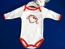 BODY MANICHE LUNGHE HELLO KITTY BIMBA TGL 12 MESI