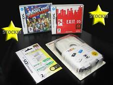 OFFERTA STOCK 2 GIOCHI + 2 ACCESSORI NUOVI DS E 3DS EXIT BOWLING ITA STOCK167