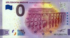 Null Euro Schein - 0 Euro Schein - Göltzschtalbrücke 2021-1 Anniversary