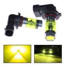 New 2x 100w Led 9145 H10 4300k Yellow Projector Fog Light Bulbs Free Usa