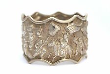 Antique Chinese Solid Silver Napkin Ring (R1265)