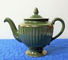 HALL POTTERY Los Angeles TEAPOT 081 Emerald Green, 6 cup  MINT!