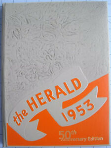 Elvis 1953 Humes High School Yearbook Reproduction / Direct From Memphis