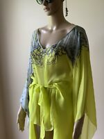 Authentic 100% Silk Roberto Cavalli's blouse/ tunic. Size: 40.
