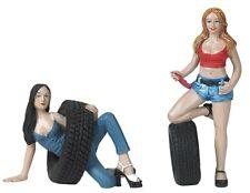 Motorhead Miniatures 1:18 Scale Val & Andie Figurines