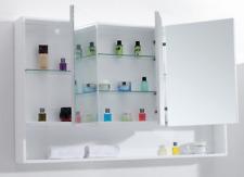 Bathroom 1500mm Medicine Mirror Cabinet #V15 White