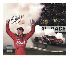 Dale Earnhardt Jr Autographed/Signed Budweiser 8x10 Photo LE/8000 FAN 25167