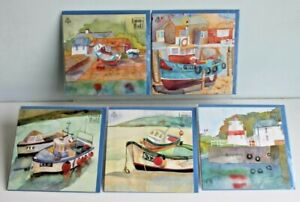 Selection of 5 Beautiful Emma Ball Greetings Cards Envelopes New & Sealed