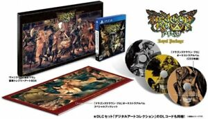 Limited Edition Pro Royal Package Dragons Crown Japanese Version