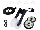 Dryer Repair Kit Drum Rollers Belt Idler Pulley For Amana NGD4655EW2 NED4600YQ1 photo