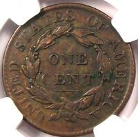 1819 Coronet Matron Large Cent 1C - NGC XF40 (EF40) - Rare Certified Coin