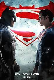 Batman V Superman Ver. C Movie Poster 14x20