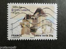 FRANCE 2013, timbre AUTOADHESIF, VILLA DES FRERES LUMIERE, oblitéré ARCHITECTURE