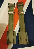 British army ww2 issue 44 pattern webbing brace attachments pair officers