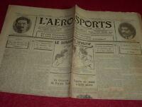 [Collection Jean Domard SPORTS] L'Aero-Sports Auto Bike Aviation Boxing Etc. N#