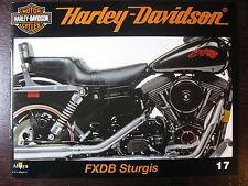 FASCICULE 17 HARLEY DAVIDSON FXDB STURGIS / MOTOS CRUISER / SERVI CAR