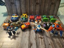 Transformers Rescue Bots Figures Lot of 14 - Fair Condition