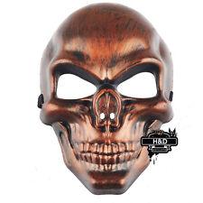 Plastic Skeleton Warrior Halloween Prop Masquerade Mask Fancy Dress Costume Gift