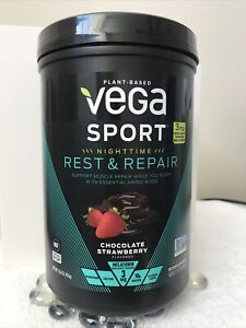 Vega Sport Nighttime Rest & Repair Chocolate Strawberry Flavored