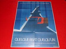 COLL.J. LE BOURHIS AFFICHES  / Rare! FOLON FILM YANNICK BELLON EO 1972 80x60