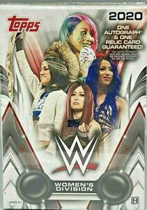 2020 TOPPS WWE WOMEN'S DIVISION WRESTLING HOBBY BOX FACTORY SEALED NEW
