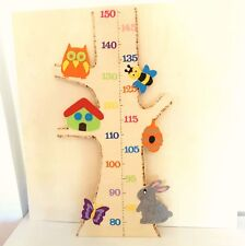 Metro bambini per parete in legno misura altezza