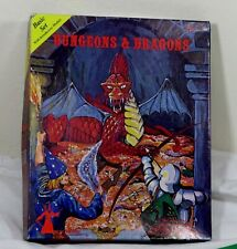 Vintage Dungeons & Dragons Basic Set EMPTY BOX Only 1979 Role Playing Game