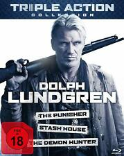 Dolph Lundgren - Blu Ray Disc - The Punisher, Demon Hunter, Stash House..