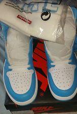 Supreme Hat x Nike Air Jordan 1 Retro High OG White Powder Blue  12 DS UNC 2015