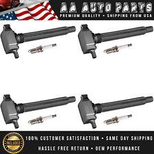 Ignition Coil & Platinum Spark Plug For Jeep Cherokee Chrysler 200 FIAT UF754