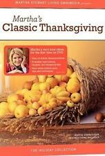 New Martha Stewart Classic Thanksgiving The Holiday Collection DVD Shrinkwrapped
