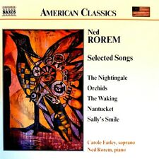 """Rorem - """"The Nightingale"""" - """"Orchids"""" - ( CD - Naxos Records )"""