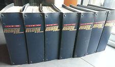 RARE collection complette MOTOCYCLISME 1969 A 1975 66 numero + les 16 hors serie