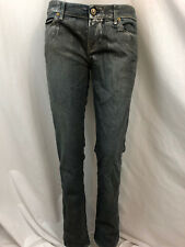 Rich & Skinny Gris Metálico Jeans, Mujer Talla 29