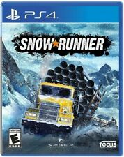 SnowRunner for PlayStation 4 [New Video Game] PS 4