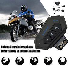 Motorrad Helm Bluetooth Headset Kopfhörer Motorräder Intercom Gegensprechanlage