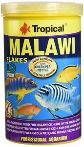 Tropical Malawi Mbuna Cichlids special flake vegetable high-protein fish food...