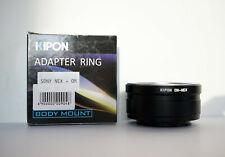 Kipon Adapter Ring Olympus OM Zuiko a Sony Nex E mount