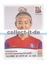 Panini Frauen WM World Cup 2015  - Sticker 358 - Cho Sohyun