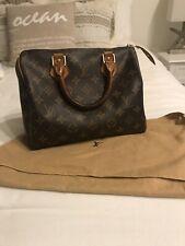 Authentic Vintage Louis Vuitton Speedy 25 Bag Monogram W/Dust Bag (see details)