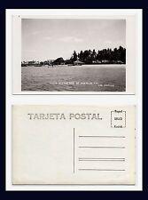 MEXICO SAN BLAS VISTA DEL PUERTO HERRERA REAL PHOTO PAPEL KODAK CIRCA 1950