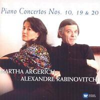 Martha Argerich - Mozart: Piano Concertos Nos 10, 19 & 20 (NEW CD)