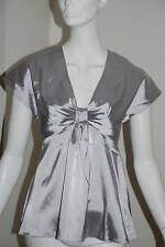 Satin V Neck Party Tops & Shirts for Women