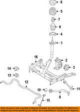 BMW OEM 14-16 328i GT xDrive Lower Control Arm-Front-Rear Arm 31126798253
